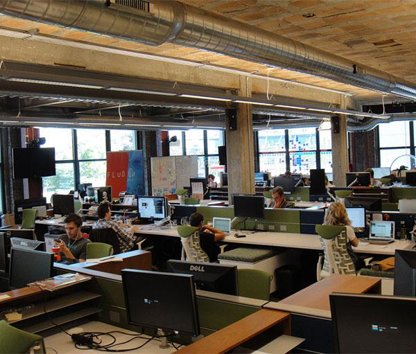Detroit's Gleaming Start-Up Tower