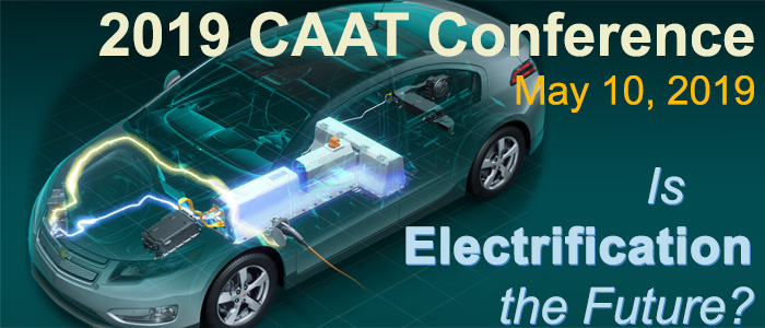 Vehicle Electrification Focus of Macomb Community College's 2019 Center for Advanced Automotive Technology Conference
